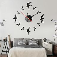 Đồng hồ treo tường 3D tự lắp ráp phong cách Châu Âu DH03 Ballet thumbnail