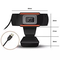 Webcam có mic chuyên dùng cho học online, phù hợp với học sinh, sinh viên, văn phòng, phân giải HD720 dành cho PC thumbnail