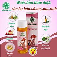 Nước Tắm Tinh Dầu Thảo Dược Bảo Linh Cho Bà Bầu, Mẹ Sau Sinh dung tích 70ml siêu tiết kiệm thumbnail