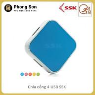 Chia cổng HUB USB 4 cổng SSK SHU - Hàng Chính Hãng thumbnail