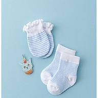 Set 1 đôi tất chân kèm bao tay cho bé thumbnail