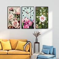 Tranh treo tường, tranh nghệ thuật DH2529A bộ 3 tấm ghép thumbnail