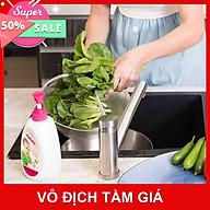Combo 2 Túi bổ sung Nước rửa bình sữa & rau quả Mamamy 600ml thumbnail