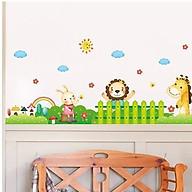 Decal dán tường hàng rào động vật cho bé XL7181 thumbnail