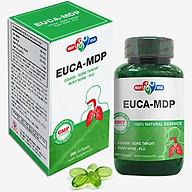 Thực phẩm chức năng Euca - MDP - Softgels - Giảm ho bổ phế, hỗ trợ điều trị cảm cúm, sổ mũi thumbnail