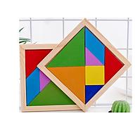[COMBO 2 Sản phẩm] Bộ ghép hình đồ chơi 17 mẫu độc đáo - Chất liệu gỗ an toàn thân thiện cho bé thumbnail