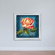 Tranh hoa hồng treo tường phòng khách, phòng ngủ W1891 thumbnail