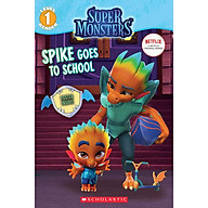 Spike Goes to School (Super Monsters Level One Reader) thumbnail