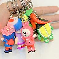 Móc treo chìa khóa, treo điện thoại vỏ ốp lưng các loại hình ngộ nghĩnh đáng yêu, giao hàng ngẫu nhiên thumbnail