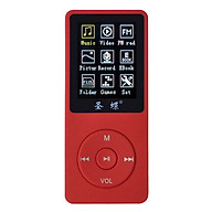 1.8-Inch Screen Mp4 Player 4Gb Capacity And Ebook Lossless Sound Quality Mp3 Plug-In Card With Red Speaker thumbnail