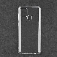 Ốp lưng cho Samsung Galaxy A21s chất liệu silicon dẻo trong suốt thumbnail