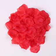 Cánh hoa hồng vải trang trí tiệc cưới tiệc sinh nhật (100 cánh) thumbnail