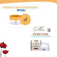 Bộ sản phẩm dưỡng trắng da body Acosmetics (Ủ trắng pha lê tinh thể nước và Kem body mềm) thumbnail