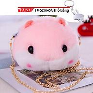 Túi Đeo chéo nữ gấu thời trang cho bé hình chuột GG01 Tặng móc khóa thỏ trắng thumbnail