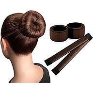 Bộ 2 dụng cụ búi tóc nghệ thuật cao cấp thumbnail