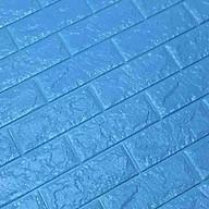 bô 20 Xốp Dán Tường 3D Chịu lực, chống nước, chống ẩm mốc 70x77cm DT26-xanh dương thumbnail