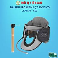 Đai hơi kéo giãn đốt sống cổ Leamai C03, hỗ trợ giảm đau cổ vai gáy và thoát vị đệm cổ [TBYT H-Care] thumbnail