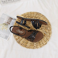 Sandal nữ bệt quai mảnh dây chéo thời trang phong cách chiến binh đi biển thumbnail