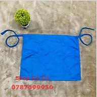 Tạp dề phục vụ màu xanh dương chất liệu kaki dành cho phục vụ, pha chế thumbnail