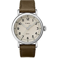 Đồng Hồ Dây Da Nam Timex Standard 40mm Leather Strap Watch - TW2T20100 thumbnail
