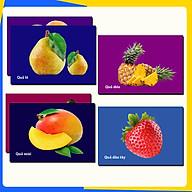 Thẻ Flash Thông Minh Bé Nhận Biết Thế Giới Rau- Củ- Quả thumbnail