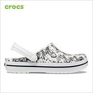Giày Lười Unisex Crocs Crocband Cardio Wave 206474 - 206474-103 - M8W10 thumbnail