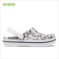 Giày Lười Unisex Crocs Crocband Cardio Wave 206474 - 206474-103 - M11 thumbnail