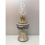 Đèn thờ đốt dầu ( gốm men rạng nỗi ) gốm bât tràng cao cấp Đk 9cm. Cao 24,5cm thumbnail