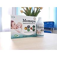 Dung dịch tắm thảo dược sau sinh MOMSPA (set 3 chai) phục hồi cơ thể MẸ sau sanh (Tặng kèm móc khóa siêu cute Hàn QUốc) thumbnail