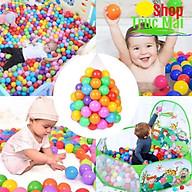Bóng Đồ Chơi Cho Bé Nhiều Kích Cỡ Bóng Nhựa Nhà Banh quây đồ chơi cho bé trai và bé gái thumbnail