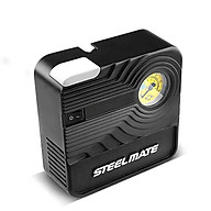 Bơm lốp ô tô dự phòng STEELMATE P03 cơ cho xe 4-7 chỗ, có đèn, bảo hành 12 tháng thumbnail