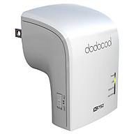 Bộ AP Router Repeater Wi-Fi Không Dây Băng Tần Kép Dodocool AC750 (2.4GHz 5GHz) - US Plug thumbnail