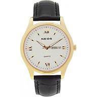 Đồng hồ Neos N-30869M nam dây da thumbnail