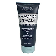 Advanced Clinicals Shaving Cream (148 ml) thumbnail