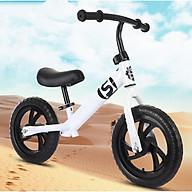 Xe thăng bằng cho bé bền đẹp màu trắng thumbnail