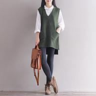 Áo gi le len dáng dài ArcticHunter, chất len mềm mịn, thời trang trẻ, thương hiệu chính hãng thumbnail