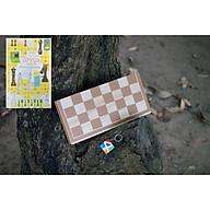 Đồ chơi thông minh cho bé, cờ vua bằng gỗ tiêu chuẩn quốc tế giúp phát triển trí tuệ cho trẻ em - Kèm các chiến thuật cờ vua thumbnail