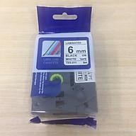 Nhãn in TZ2-211 tiêu chuẩn - Chữ đen trên nền trắng 6mm ( Hàng nhập khẩu) thumbnail