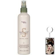Keo xịt tạo kiểu tóc mềm Welcos Matt Light Water Spray 252ml tặng móc khóa thumbnail