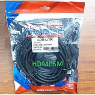 Cáp HDMI 5M ADBLink Full HD Dây Tròn thumbnail