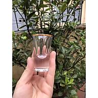 Bộ 6 ly rượu Shot thủy tinh viền vàng_20ml thumbnail