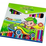 Bộ bút chì màu 24 cây thumbnail