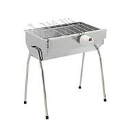 Bếp nướng than hoa V5M, quay tự động, lò nướng than inox, bếp nướng ngoài trời, bếp nướng than củi tự xoay thumbnail