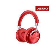 Lenovo HD800 Wireless BT Headset BT5.0 Noise Reduction Ergonomic Sports Headset with 40mm Driver Unit 3.5mm Plug Red thumbnail