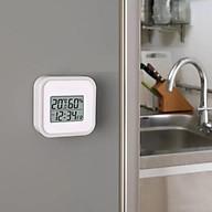 Nhiệt kế điện tử đo nhiệt độ và độ ẩm phòng - tặng kèm bộ bấm móng tay cho bé thumbnail