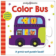 Puzzle And Play Color Bus A Press-Out Puzzle Book thumbnail