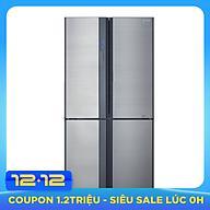Tủ Lạnh Inverter Sharp SJ-FX680V-ST (605L) - Hàng chính hãng thumbnail