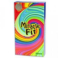 Bao cao su Sagami Miracle fit hộp 10 cái thumbnail