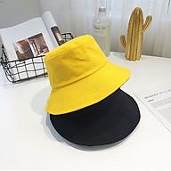 Nón bucket 2 mặt vành tròn trơn - mũ tai bèo Ulzzang phong cách, cá tính Unisex nam nữ thumbnail