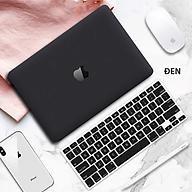 COMBO 3in1 - Case, ốp kèm phủ phím dành cho Macbook - Màu Đen [Tặng kèm nút chống bụi Macbook - Màu ngẫu nhiên] - Hàng chính hãng thumbnail